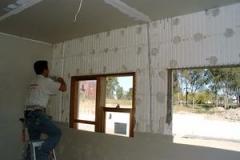 applying cornice cement