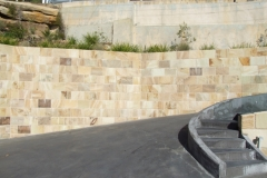 Stone Clad Retaining Wall Whale Beach