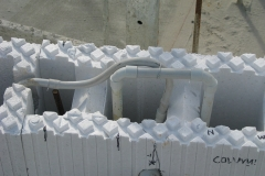 Air trap for electrical conduits in 250 Series