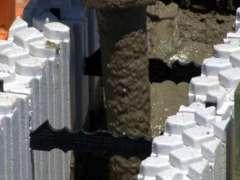 Concrete 50mm block fill hose