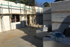 ICF-Materials-for-first-floor--positioned-in-centre-of-room.-Clean-and-tidy-site