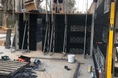 Building ReFORM formwork with bracing